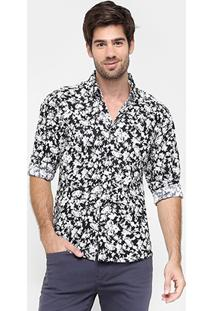 Camisa Forum Full Print Floral - Masculino