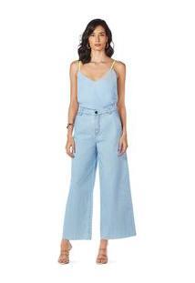 Blusa Decote V Alca Detalhe Vivo Jeans