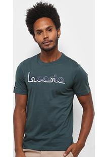 Camiseta Lacoste Regular Fit Masculina - Masculino