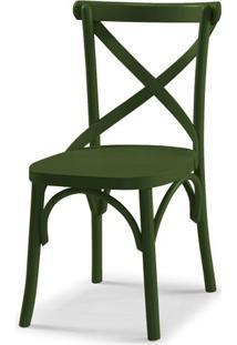 Cadeira X Cor Verde Escuro - 31336 - Sun House