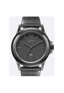 Relógio Condor Feminino Tendência Preto Analógico Co2035Mvx8P