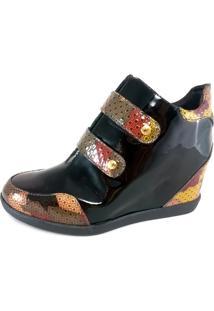 Sneaker Confort Topgrife Preto