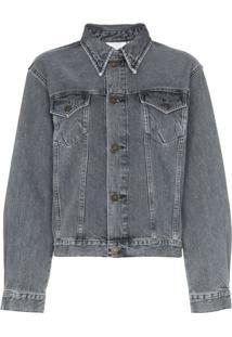 Calvin Klein Jeans Est. 1978 Jaqueta Jeans - Preto