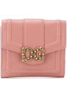 Dolce & Gabbana Carteira Dg Amore - Rosa