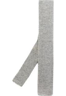 Eleventy Gravata De Lã - Grey