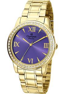 c9868c6b24d ... Relógio Champion Analógico Ch24679D Feminino - Unissex-Dourado