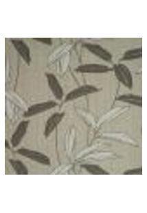 Papel De Parede Italiano Naturae 304-74 Vinílico Com Estampa Contendo Folhagem, Aspecto Têxtil, Moderno