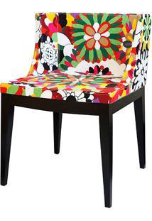 Cadeira Senhorita Madeira Escura Or-1135Bme – Or Design - Colorido