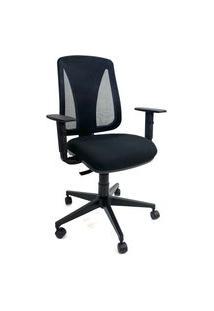 Cadeira Office Gerente Byartdesign Bari Preto