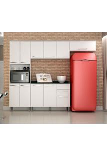 Cozinha Compacta Alpes 11 Pt 2 Gv Branca