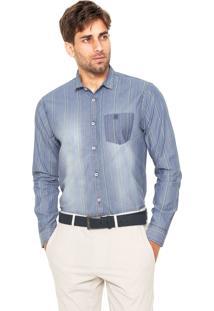 Camisa Polo Wear Indigo Azul