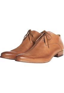 Sapato Elisa Marchi Oxford Francisco Bege
