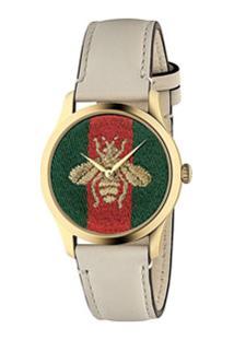 Gucci Relógio G-Timeless 38Mm - Branco