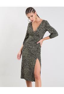00c0eed02 Vestido Onca Viscose feminino | Shoelover