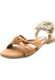 Sandália Romântica Calçados Caramelo - Kanui