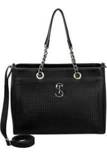 Bolsa Handbag Selten Alça Transversal Removível Casual Feminina - Feminino