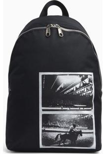 Mochila Ckj Foil Andy Warhol Rodeo - Preto - U