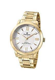 R  215,00. Amazon Relógio Aço Inox Vidro Analógico Manual Feminino Tronic  Champion Dourado ... 7abdff10f4