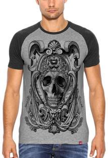 Camiseta Wevans Caveira Romana - Masculino