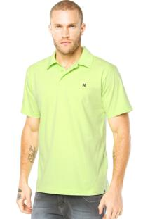 Camisa Polo Hurley Block Party Verde