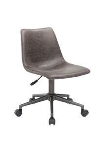 Cadeira Office Byartdesign Oslo Cinza