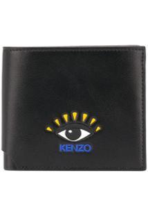 Kenzo Carteira Dobrável Eye - Preto