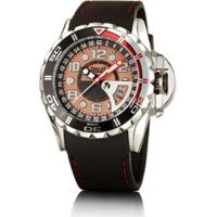 a2d363a9b7e Relógio Masculino Everlast Pulseira Silicone Analógico - Masculino-Preto +Rosa