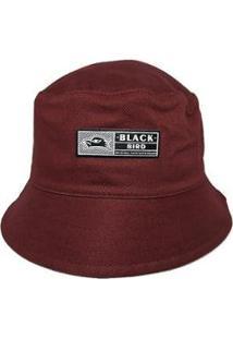 Chapéu Black Bird Bucket Hats Thb 801/M Unissex - Unissex-Vinho