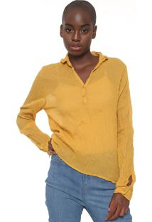 Camisa Cantão Amarração Amarela