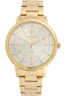 Relógio Technos 2035Mfn/4D Dourado