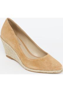 Sapato Anabela - Marrom & Bege - Salto: 8Cmarezzo & Co.