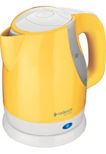 Chaleira Elétrica Simmy Colors 1L Amarela Cadence 220V