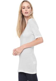 Camiseta Calvin Klein Lisa Branca
