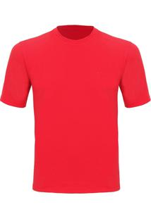 Camiseta Masculina Silver Mc Vermelha Curtlo Vma202