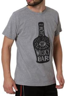 Camiseta Manobra Radical Manga Curta Masculina - Masculino