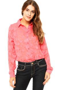 Camisa Forum Florida Rosa