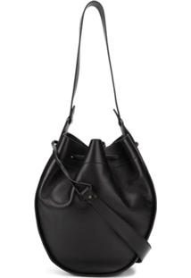 The Row Xl Drawstring Hobo Bag - Preto