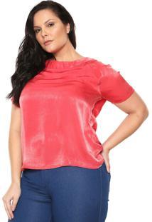e17bd9cb8 Blusa Cetim Plus Size feminina   Shoelover