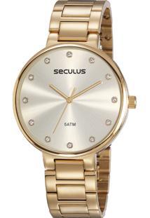 Relógio Seculus Feminino 23688Lpsvds2