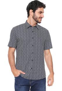 Camisa Aramis Reta Menswear Azul-Marinho