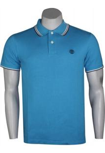 Polo Masculina Timberland Tipped Pique
