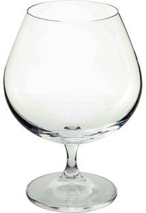 Jogo De Taças Brandy Gastro 690Ml 06 Peças - Crystalite Bohemia - Transparente