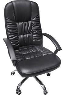 Cadeira Office Clean- Preta- 108X57,5X43Cm- Or Dor Design
