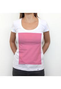 Pink - Camiseta Clássica Feminina