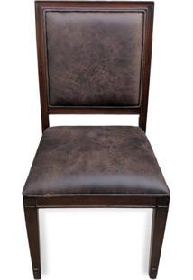 Cadeira Ômega Madeira Maciça Design Clássico Peça Artesanal