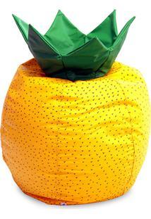 Puff Frutinha Abacaxi Courino Amarelo - Stay Puff