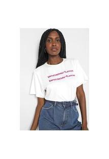 Camiseta Lança Perfume Easy Off-White