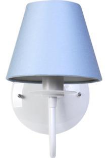Arandela 1 Lâmpada Azul Quarto Bebê Infantil Menino - Kanui