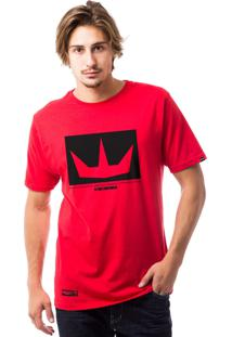 Camiseta Ezok 4Rmy Sk8 Vermelho