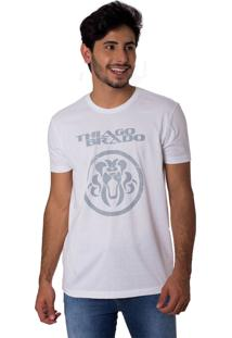 Camiseta Turnê A Jornada Gola Redonda Thiago Brado 1107000008 Branco